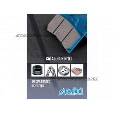 catalog Polini brakes and oil filter