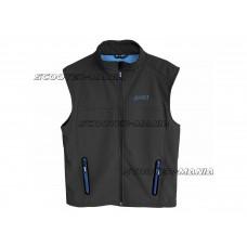 softshell vest Polini black size S
