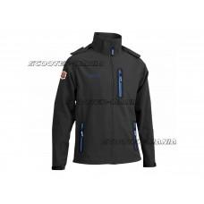softshell jacket Polini black size S