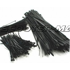 cable ties 250mm x 4.8mm - set of 100 pcs