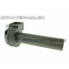 quick action throttle / twist grip throttle black - universal