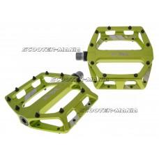 n8tive flat pedal DH 105x110mm - green