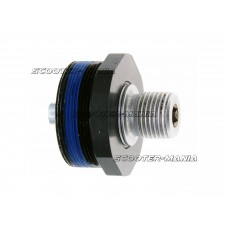 n8tive pedal pivot shaft with bearing body for NOAX - left side (right-hand thread)
