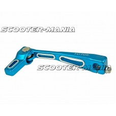gear shifter / shift lever TNT blue for Minarelli AM