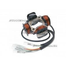 analog ignition system stator Polini for Piaggio Ape 50 (E-start)