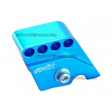 riser kit Polini CNC 4-hole blue for Piaggio
