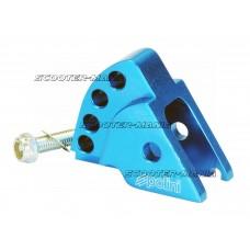 riser kit Polini CNC 4-hole blue for Minarelli horizontal