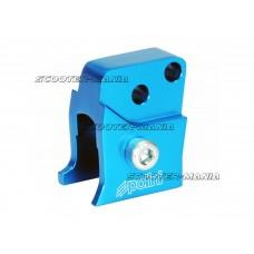 riser kit Polini CNC 2 hole blue for Peugeot horizontal