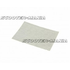 adhesive aluminized fiberglass cloth heat barrier / protection tape 1.60x140x195mm