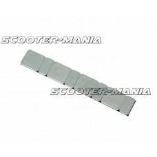 balancing weights adhesive tape / glue strip silver flat version