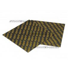 carbon fiber reed sheets Polini 0,25mm 110x100mm - universal (yellow)