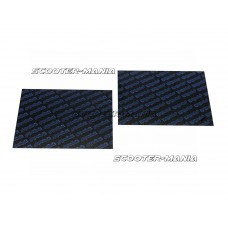 carbon fiber reed sheets Polini 0,30mm 110x100mm - universal (blue)