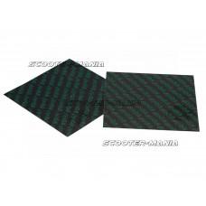 carbon fiber reed sheets Polini 0,35mm 110x100mm - universal (green)