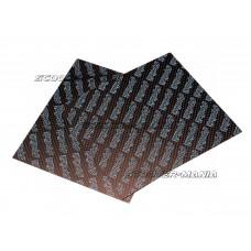 carbon fiber reed sheets Polini 0,28mm 110x100mm - universal (light blue)
