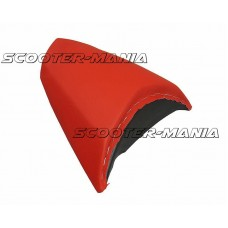 pillion seat cover Opticparts DF red for Peugeot Jetforce