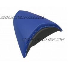 pillion seat cover Opticparts DF blue for Peugeot Jetforce
