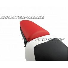 pillion seat cover Opticparts DF red for Aprilia SR50 (97-05)