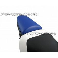 pillion seat cover Opticparts DF blue for Aprilia SR50 (97-05)