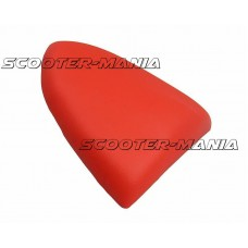 pillion seat cover Opticparts DF red for Aprilia SR50R, Factory