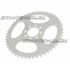 rear sprocket 52 teeth (chain 420) 8-hole, center hole d=60mm for Yamaha DT50 R Trail (00-02)