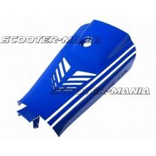 battery case cover Top Custom Line blue for Yamaha Aerox, MBK Nitro