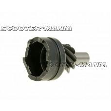 idle shaft gear / kickstart pinion gear for Piaggio