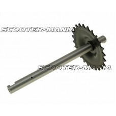 crank with 24 tooth sprocket for Peugeot 103