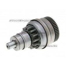 starter bendix gear / starter clutch 14/55 for Piaggio, Vespa, Derbi, Gilera, Aprilia 50cc 4-stroke