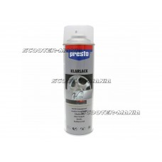 clear lacquer Presto glossy finish for spray paints 500ml
