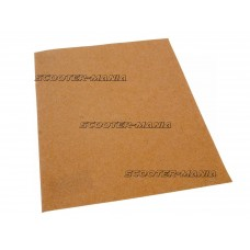dry sandpaper P40 230 x 280mm sheet