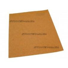dry sandpaper P60 230 x 280mm sheet