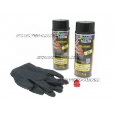 strippable lacquer Dupli-Color Sprayplast set black glossy 2x400ml