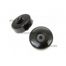 handlebar / bar end weights anti-vibration damper black for Vespa GTS 125-300, Primavera, Sprint