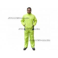 rain suit S-Line yellow 2-piece - size L