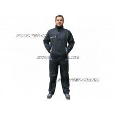 rain suit S-Line black 2-piece - size M