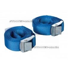 cam buckle tie-down straps Silverline 25mm x 2.5m - 2 pieces