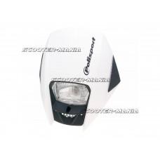 headlight Polisport Exura white