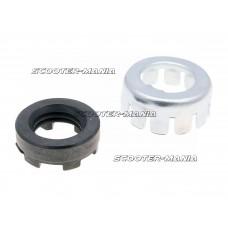 clutch lock nut / clutch castle nut set for LML, Vespa PX, PE