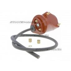 ignition coil (outside) for Piaggio Ape 125-150 (61-81), Vespa 150 GL, GS (54-67)