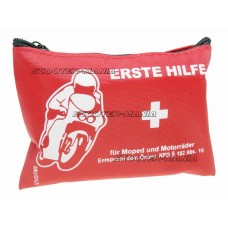 first aid kit pouch for motorcycle, geared bike, scooter