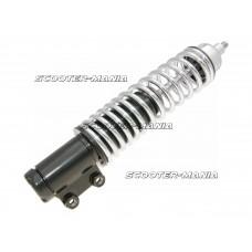front shock absorber Carbone Standard 208mm black / chrome for Vespa LX 50, 125, 150cc