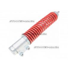 front shock absorber Carbone Standard silver / red for Vespa GTS 125, 150, 300 Super Sport