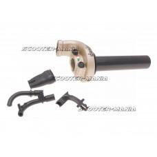 quick action throttle Domino KRE 03 off-road 2.6?/ 45mm titanium-colored - universal