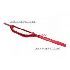 Enduro handlebar aluminum w/ crossbar red color 22mm - 820mm