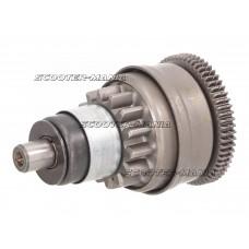 starter bendix gear / starter clutch for Aprilia, Pegasus, TGB (Morini)