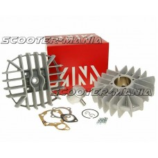 cylinder kit Airsal racing 63.2cc 46mm for Puch Monza 4-Gang, White Speed