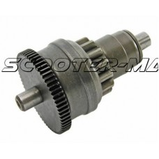 starter bendix gear / starter clutch for Peugeot, Kymco, 139QMB/QMA