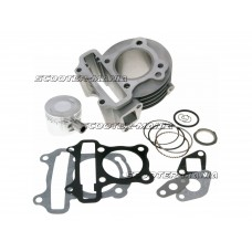 cylinder kit 72cc for GY6, Kymco 4-stroke, 139QMB/QMA