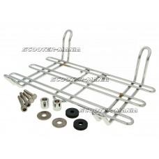 luggage rack Buzzetti chromed for Vespa GTS, GTV 250-300cc
