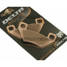 brake pads Delta Braking sintered DB2011OR-N